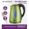 MAGNUM AQUA EXPRESS CORDLESS STEEL KETTLE COLORED