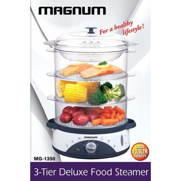 MAGNUM 3 TIER DELUXE FOOD STEAMER