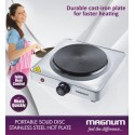 MAGNUM PORTABLE SOLID DISC S.STEEL HOT PLATE