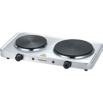 MAGNUM DURABLE CAST-IRON SOLID DISC DUAL HOT PLATE